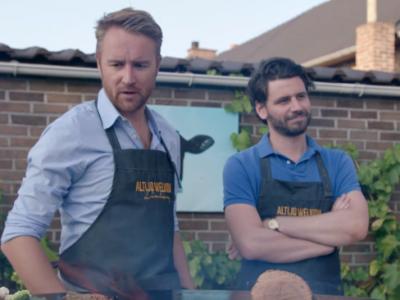 Barbecueën met Ben Roelants