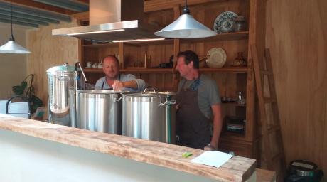 bier brouwen in de keuken