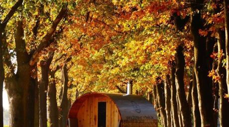 Sauna on wheels