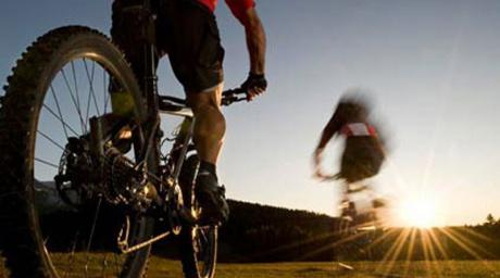 Actief buiten fietsen