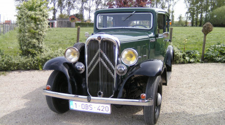 Oldtimerrit met Citroën