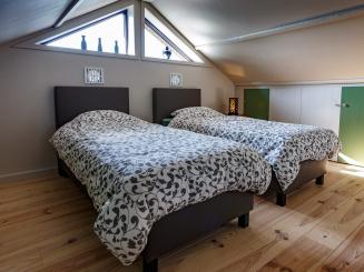 Vakantiewoning - Zente - Meetjesland - Sint-Laureins - slaapkamer - bedden - overnachting (148).jpg