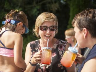 Enjoying summer drinks at Green Park Hotel Brugge.jpg