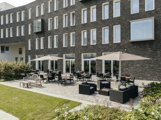 Leopold Hotel Oudenaarde Terrace.JPG
