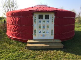 Le Plat Pays Yurt